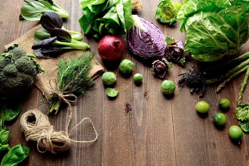 La verdura di stagione